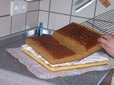 making an open book cake «Поздравительная книжка»(раскрытая) : Торты (украшения шаг за шагом)