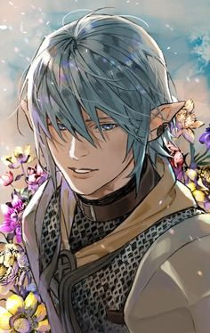 Pin by Rokuro on RpG Characters in 2019 Arte Final Fantasy, Final Fantasy Artwork, Fantasy Male, Fantasy World, Final Fantasy Characters, Fantasy Character Design, Character Inspiration, Character Art, Anime Elf