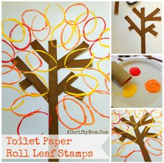 Fall Leaves Craft ma