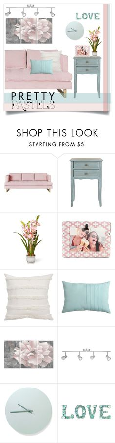 """""""Untitled #1315"""" by kaymeans ❤ liked on Polyvore featuring interior, interiors, interior design, home, home decor, interior decorating, Gus* Modern, Safavieh, National Tree Company and Fetco"""