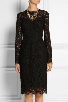 Dolce & Gabbana Lace dress NET-A-PORTER.COM