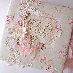 Доброго вечера, теперь я могу показать свадебный альбом, который сделала для Катюши @katilimari85 , будет подарен ею одной молодой паре из Франции... Катя, первая моя заказчица, которая доверилась и ни одного разворота, ни одной странички она не видела в электр. виде. Пожелала, чтобы был сюрприз, надеюсь он получился 😜 #handmademoldova #craftandyoudesign Photo Album Scrapbooking, Scrapbook Albums, Wedding Album, Wedding Guest Book, Altered Books, Altered Art, Paper Art, Paper Crafts, Journal Covers