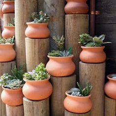 - Whether building new or redesigning an existing backyard, garden planters make elegant and functional decor elements to create a customized oasis. With hundreds of creative options, you don't need … Cacti And Succulents, Planting Succulents, Planting Flowers, Diy Planters, Garden Planters, Outdoor Planters, Potted Garden, Balcony Gardening, Outdoor Decor
