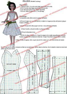 Best 12 prairie Plus Sewing Barbie Clothes, Barbie Sewing Patterns, Doll Dress Patterns, Sewing Dolls, Barbie Y Ken, Free Barbie, Barbie Dress, Barbie Doll, Diy Clothes Patterns