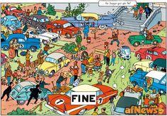 Tintin e l'Isetta BMW - http://www.afnews.info/wordpress/2015/06/06/tintin-e-lisetta-bmw/