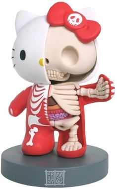 Hello Kitty - Dissected by Jason Freeny