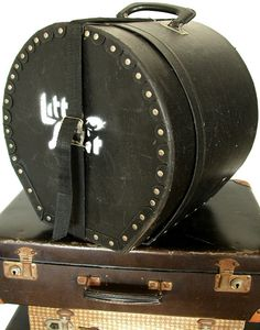 Hat Box and Brief Case