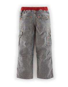Rib Waist Carpenters 22376 Pants at Boden