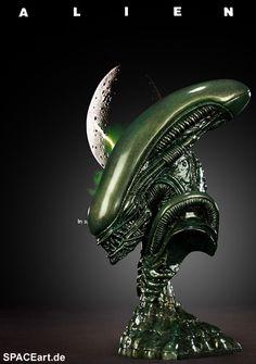 Alien: Alien Warrior Büsten Set - 4 Büsten, Fertig-Modell ... http://spaceart.de/produkte/al015.php