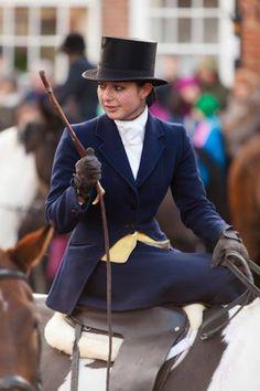 Side saddle habit