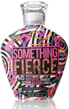 Designer Skin SOMETHING FIERCE  Bronzer Tanning Bed Lotion 10 Ounce * Check out this great product.