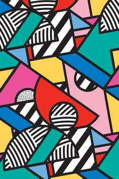 Colorful Memphis Modern Geometric Shapes - Tribal Kente African Aztec Mini Art Print by seasonofvictory Colorful Memphis Modern Geometric Shapes - Tribal Kente African Aztec Mini Art Print by Season of Victory - Without Stand - 3 x Art Pop, Fond Pop Art, Geometric Shapes Art, Geometric Patterns, Geometric Shapes Wallpaper, African Tribal Patterns, Pop Art Patterns, Graphic Patterns, African Art
