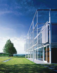Taghkanic House designed by Thomas Phifer