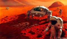 We're going to Mars -- and we're going in the not-too-distant future. NASA says preparations for a manned mission to the Red Planet are proceeding as planned, with humans expected to set foot on Mars in