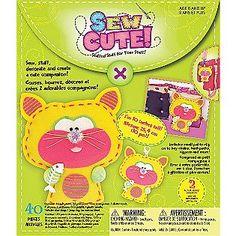 Westrim Sew Cute Cat Craft Box Kit