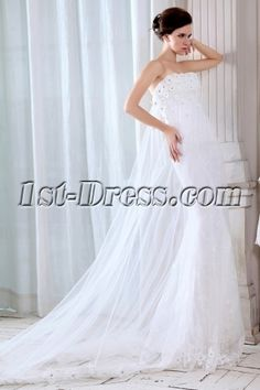 Amazing Sheath 2014 Wedding Gowns:1st-dress.com