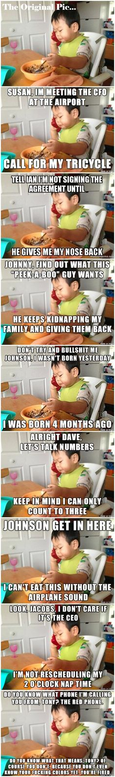 Business Baby Memes