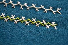 the Herringbone stitch days by Pumora
