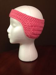 Ravelry: Baseball Cap Ponytail Ear Warmer pattern by Pamela Bastian