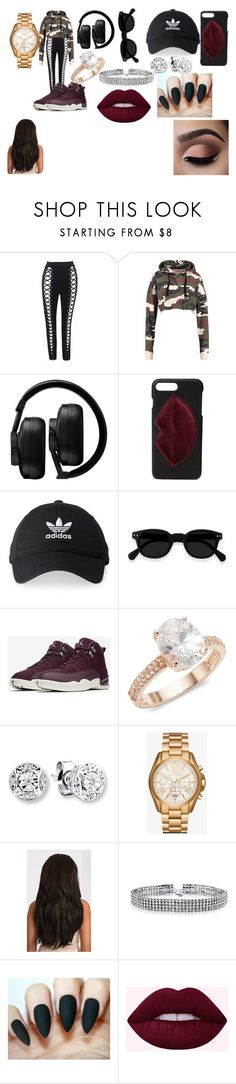 """""""savage"""" by silverparker on Polyvore featuring Master & Dynamic, Kendall + Kylie, adidas, NIKE, Saks Fifth Avenue, Michael Kors and Bling Jewelry"""