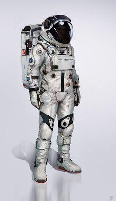 """""""Ultimo traje espacial"""" de Jose Afonso 'eSkwaad'."""