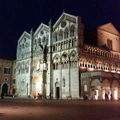 Ferrara by night - Instagram by silvianagliati