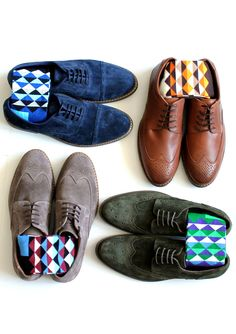 Set your groomsmen up with the perfect set of socks that express who they are on the big day!