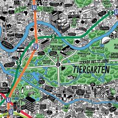 Berlin by Jenni Sparks-tiergarten