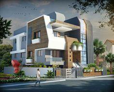 New Home Design Modern Contemporary - Exterior