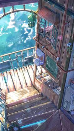 Training anime scenery Ideas for 2019 Anime Backgrounds Wallpapers, Anime Scenery Wallpaper, Aesthetic Pastel Wallpaper, Aesthetic Backgrounds, Animes Wallpapers, Cute Wallpapers, Aesthetic Wallpapers, Fantasy Art Landscapes, Fantasy Landscape