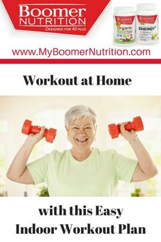 Staying Active - Workout at Home With This Easy Indoor Exercise Plan - Boomer Nutrition Bodyweight Workout Routine, Exercise Routines, Indoor Workout, Healthy Aging, Going To The Gym, Body Weight, Home Remedies, At Home Workouts, Feel Good