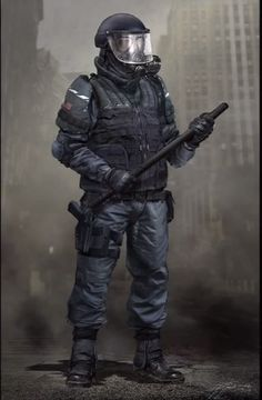 The Last of Us Concept Art - Soldier