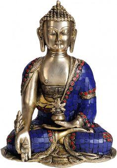 Lapis Healing Buddha