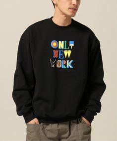 Kings of NY Branded Crewneck Sweatshirt Fleece New York Brooklyn Harlem Gold