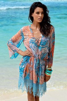 Rochie de plaja Valeria - Astratex.ro Cover Up, Costume, Beach, Turquoise, David, Dresses, Fashion, Gowns, Moda