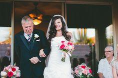 Real Weddings: Stephanie and Daniel's Arizona Backyard Wedding