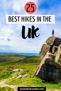25 Best Hikes in the UK - Best walks in England, Wales and Scotland. Includes some of the most beautiful walks in the UK, walks in Snowdonia, Lake District, Peak District and other pretty places in the UK Adventure Activities, Travel Activities, Outdoor Activities, Hiking Routes, Hiking Places, Hiking Tips, Hiking Gear, Uk And Ie Destinations, Kayak Camping