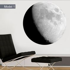 Moon Wall Decals - Moon Wall Stickers
