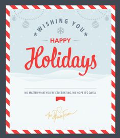 Phuse Team – Holidays HTML email marketing design