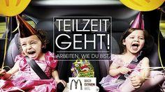 McDonald's Employer Branding: neue Kampagne