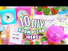 10 DIY Emoji Projects You NEED To Try! Phone Case, Stress Ball, Room Decor, Organization & More DIYs - YouTube