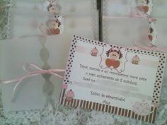 Convite de Festa Infantil Bonequinha