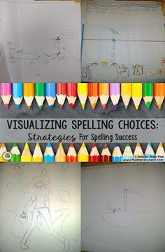 Practice Orton-Gillingham's approach with this blog about visualizing spelling choices. Students will love that it's multisensory using the kinesthetic drawing activity, auditory for telling the story & visual for looking at the picture & visualizing it.