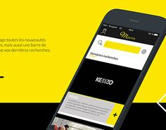 """Check out new work on my @Behance portfolio: """"Application mobile 
