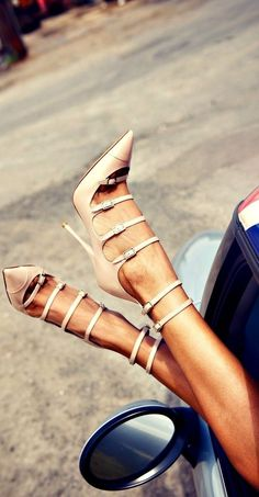strappy sandals shoes for summer party.