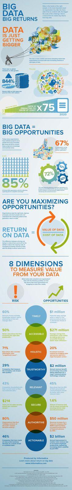 Big Data, Big Returns Infographic