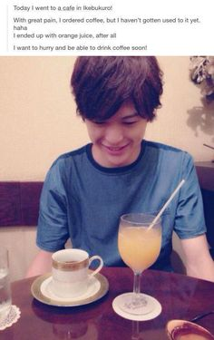 Asuma Kousuke - Hledat Googlem THIS CUTE FUCKER HE CAN'T EVEN DRINK COFFEE HOW CAN HE BE THIS CUTE