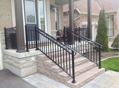 Aluminum railings are the maintenance-free option with a sleek design and a durable build that will last.
