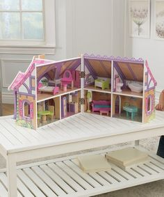 Look what I found on #zulily! Enchanted Forest Dollhouse #zulilyfinds