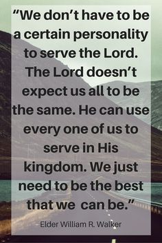 Devotional Quotes Inspiring Quote From President Russell Tosguthorpe At An October .
